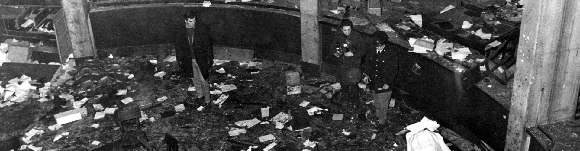 Years of Lead, Anni di Piombo, Piazza Fontana, Giuseppe Pinelli, terrorist bombings, Italian terrorism, Maoist Student Movement, Vincenzo Vinciguerra, Ordine Nuovo, Avanguardia Nazionale, Red Brigades, Walter Tobagi, Aldo Moro, Mario Moretti