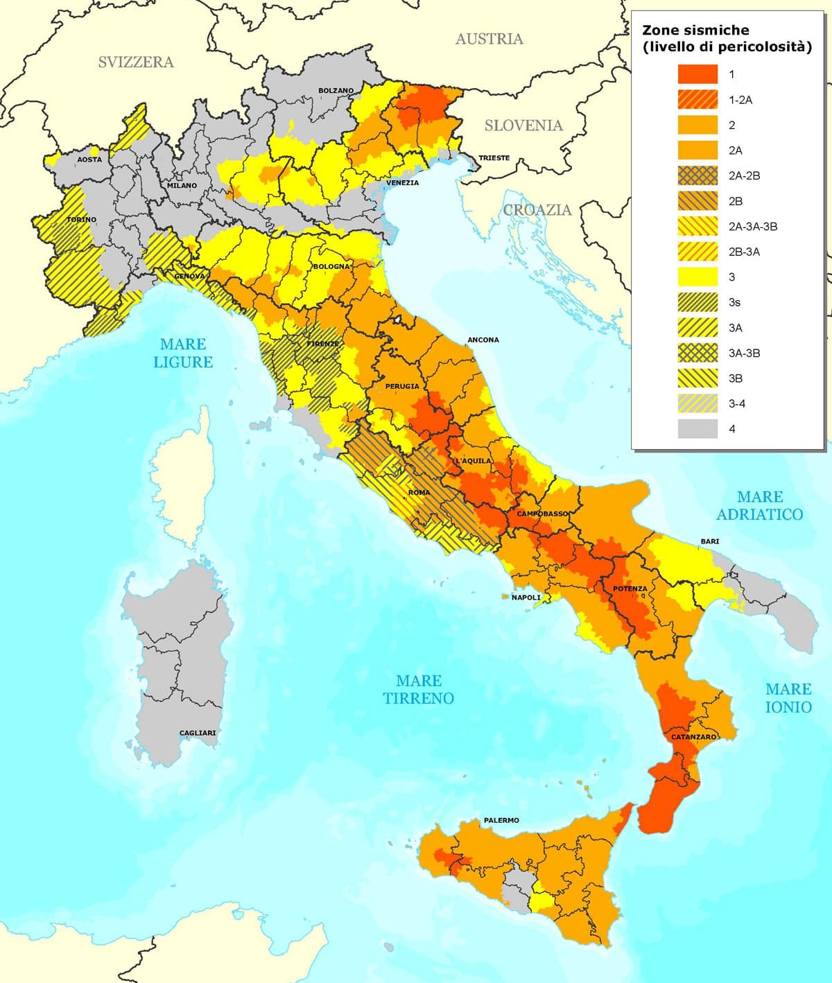 Italian earthquakes, earthquakes in italy, earth tremors italy, seismic activity italy, italian seismic zones