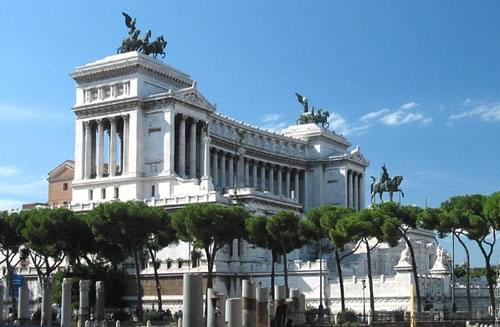 Altare della Patria, altar of the fatherland, rome monuments, tomb of the unknown soldier, italian national monuments, vittoriano, central museum of the Risorgimento, Giuseppe Sacconi, Angelo Zanelli